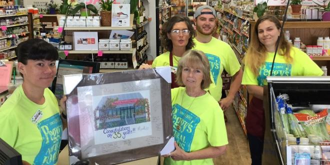 Peggy's Natural Foods Celebrates 35 Years of Business